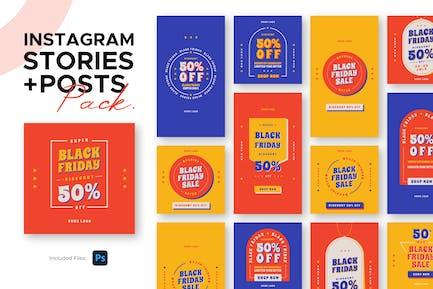 Instagram Beiträge + Geschichten