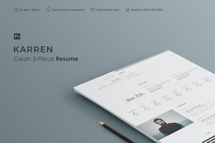 Cover Image For Resume | Karren
