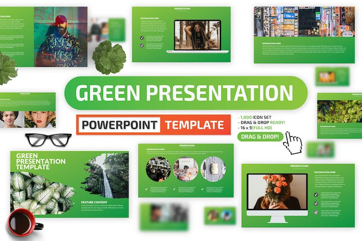 Thumbnail for Green Powerpoint Presentation
