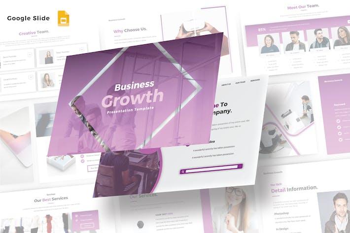 Thumbnail for BUSINESS GROWTH - Google Slide V468