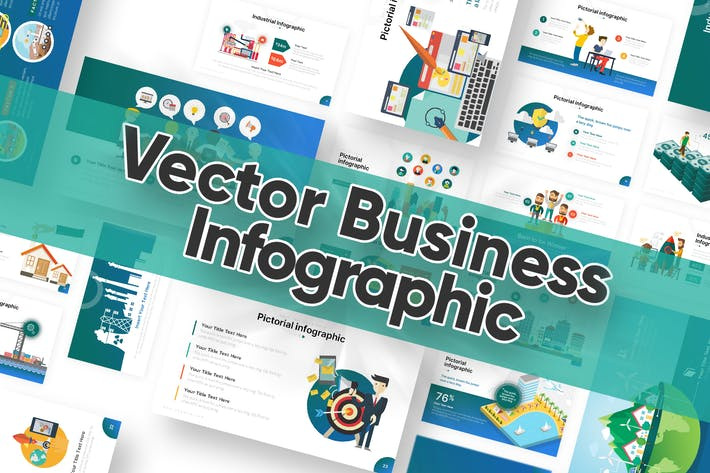 Thumbnail for Vector Business Infographic Powerpoint Template