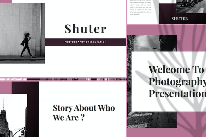 Thumbnail for Shuter – Photography PowerPoint Template