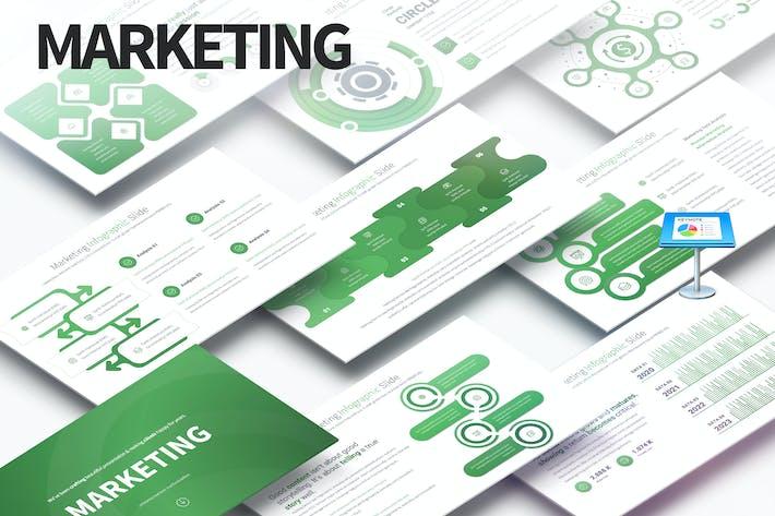 Thumbnail for Marketing - Keynote Infografiken Folien