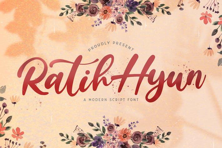 Thumbnail for Ratih Hyun - Lovely Calligraphy Font