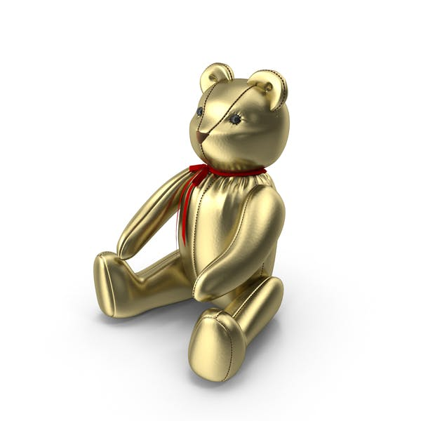 Thumbnail for Gold Teddy Bear