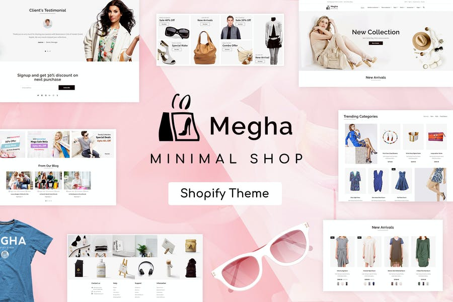 Megha - Fashion Store Shopify