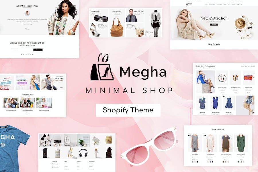 Megha - Магазин мод Shopify