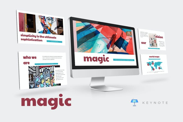 Thumbnail for Magic - Keynote Presentation