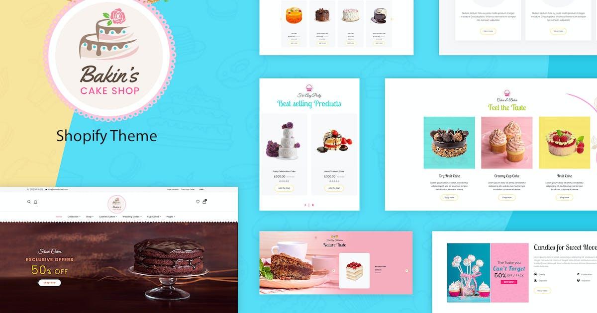 Download Bakins | Cake Shopify Theme by BuddhaThemes