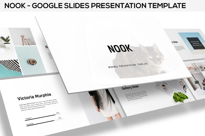 Thumbnail for Nook - Minimal Google Slides Template