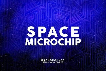 Space-Mikrochip-Hintergründe 2