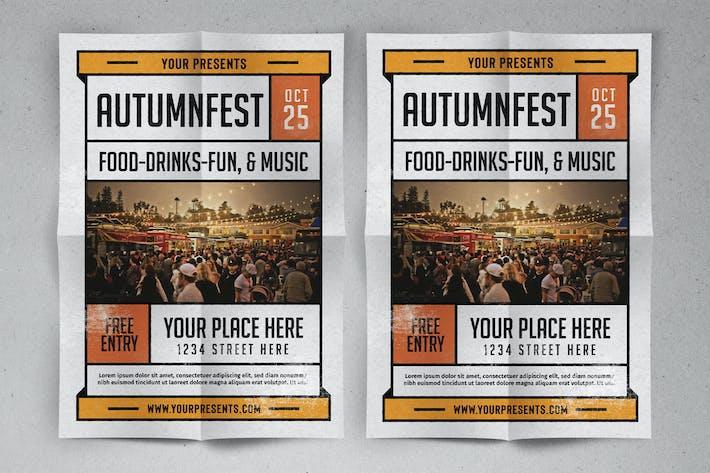 Thumbnail for Осенний фестиваль Флаер