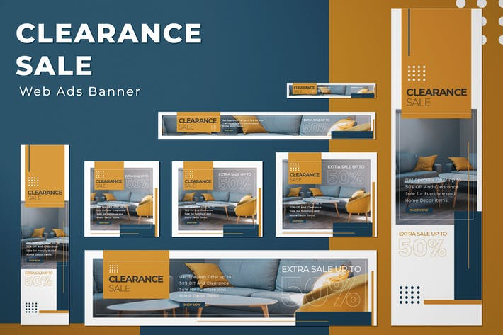 Web Ads Banners - Clearance Sale