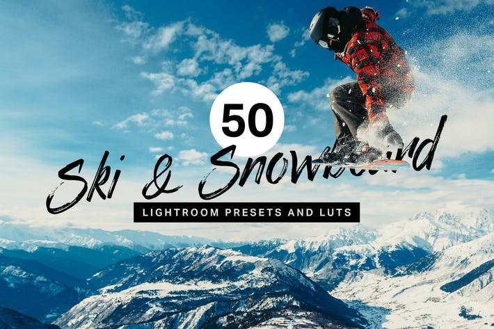 Thumbnail for 50 Ski & Snowboard Lightroom Presets