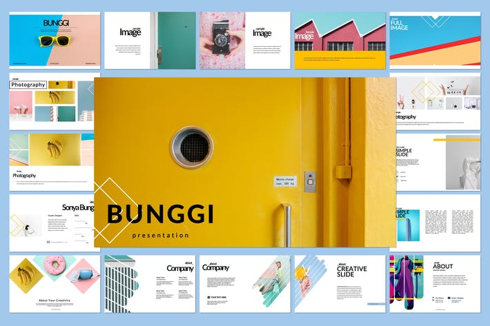 Thumbnail for Bunggi Keynote Template