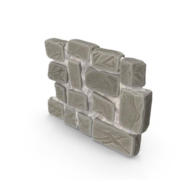 Stylized Stone Wall