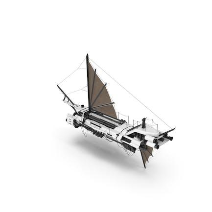 Flying Ship White