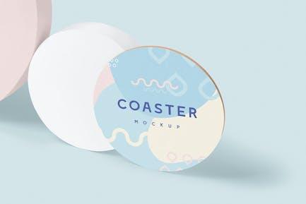 Round Coaster Mock-Ups