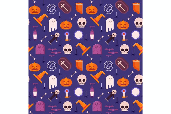 Thumbnail for Happy Halloween Pattern