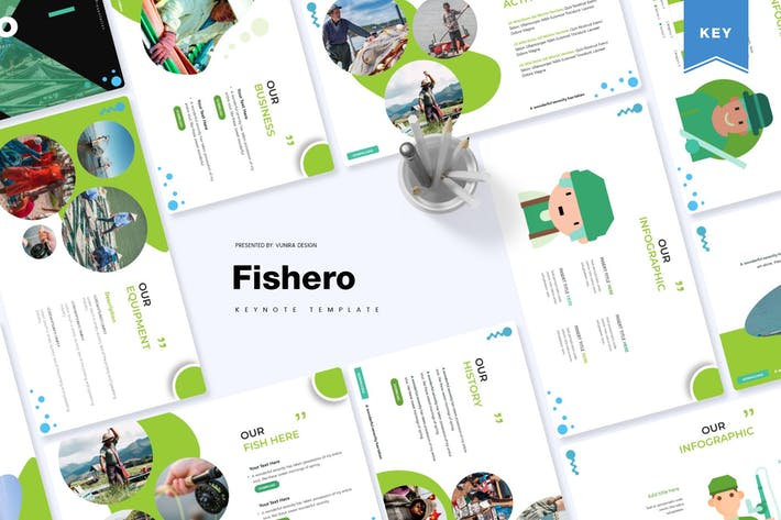 Thumbnail for Fishero | Keynote Template