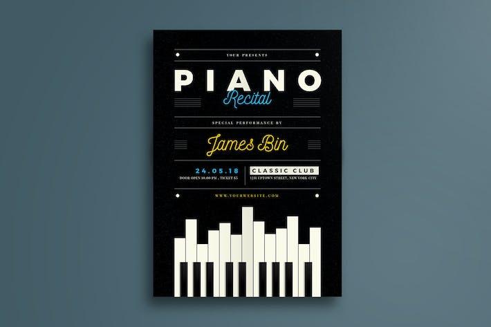 Thumbnail for Piano Recital flyer