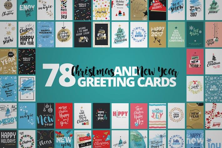 Thumbnail for Tarjetas de Navidad Mega Kit