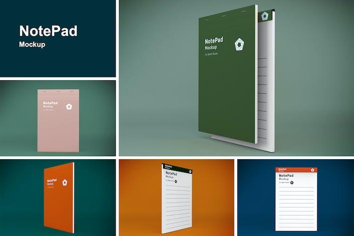 Thumbnail for NotePad Mockup
