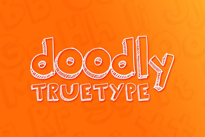 Cover Image For Doodly TrueType