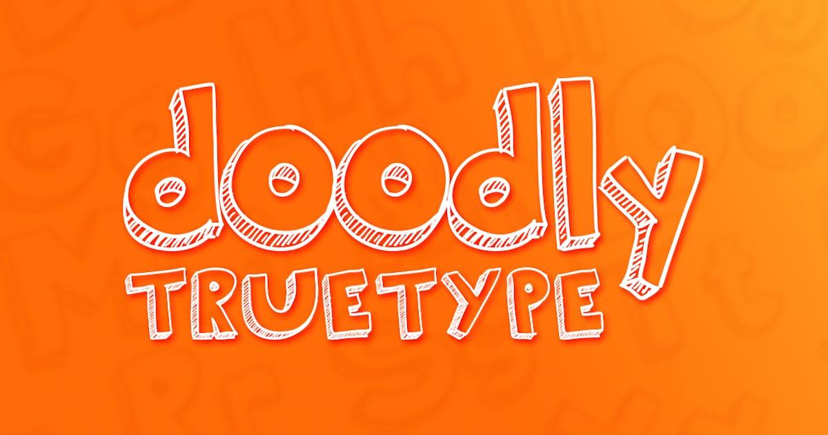 Download Doodly TrueType by RZDESIGN