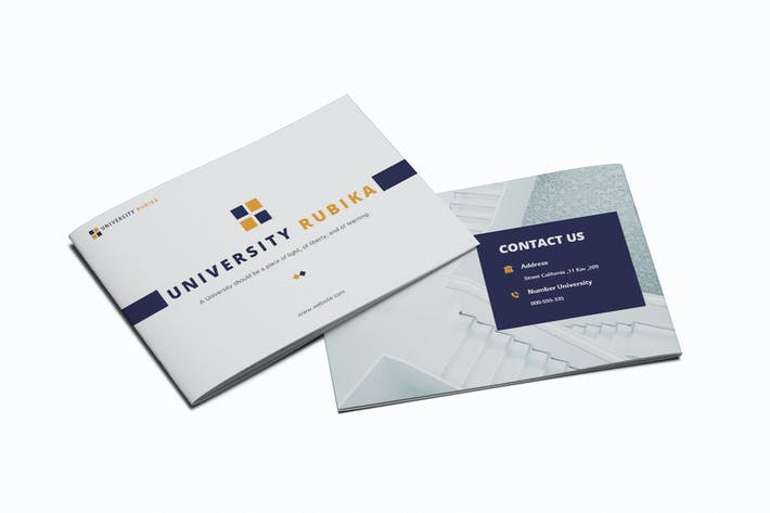 Thumbnail for University A5 Brochure Template