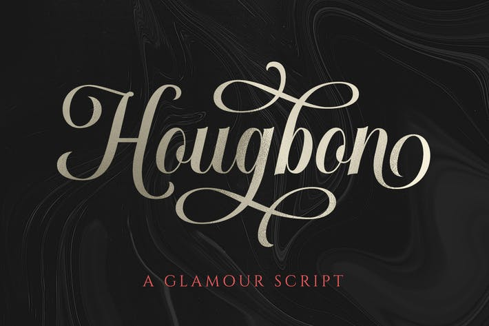Thumbnail for Hougbon - A Glamour Script