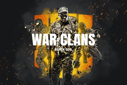 War Of Clans Photoshop Action