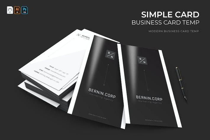 Thumbnail for Carte Simple | Carte de visite