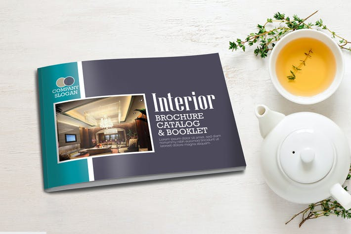 Thumbnail for A5 Interior Booklet Brochure Template Vol 2