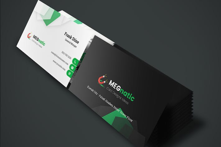 Thumbnail for Megnatic - Business Card Template