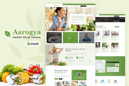 Aarogya | Shopify Health Care Store Theme