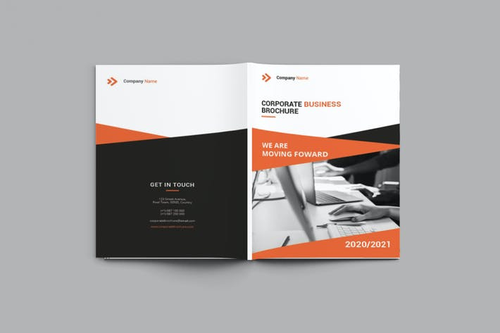Thumbnail for Companion - A4 Business Brochure Template