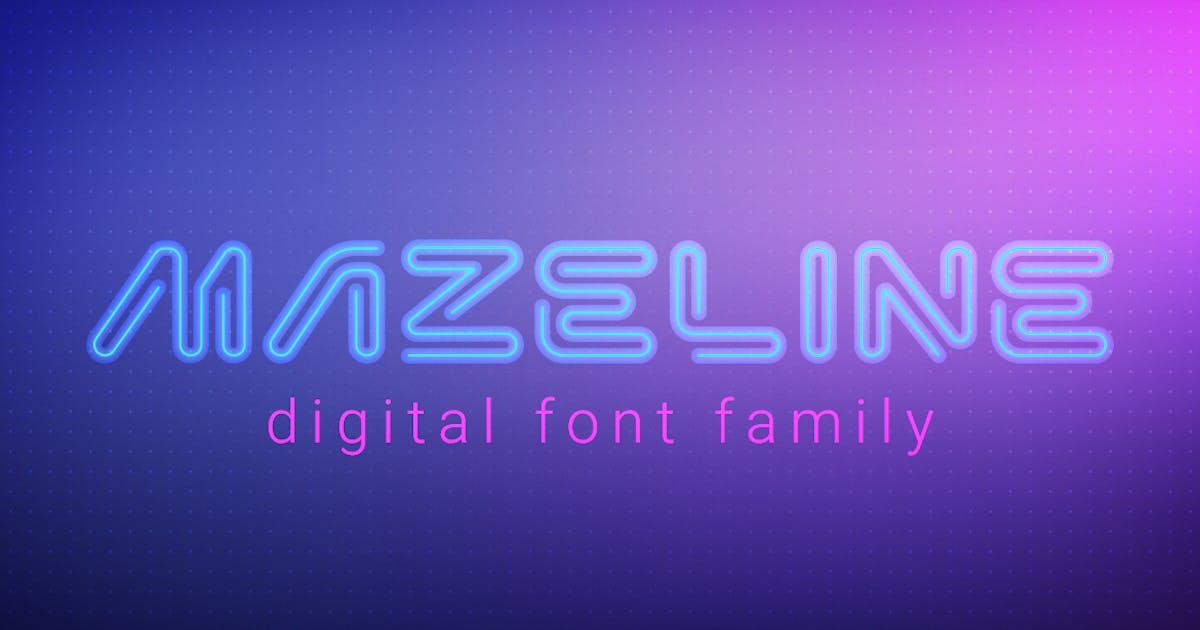 Mazeline Font by Sentavio
