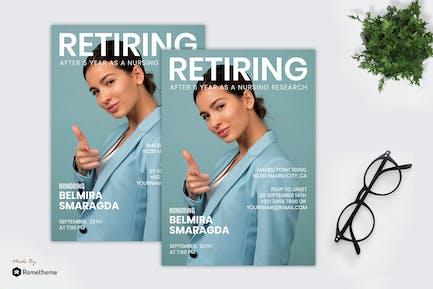 Belmira Smaragda - Retiring Flyer RB