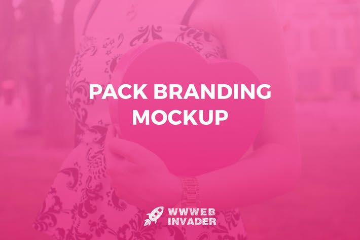 Thumbnail for Pack Branding Mockup