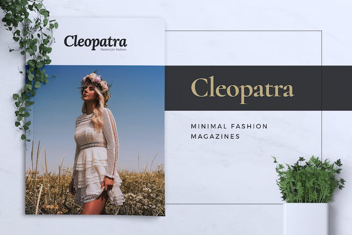 CLEOPATRA / Lookbook Magazine Fashion