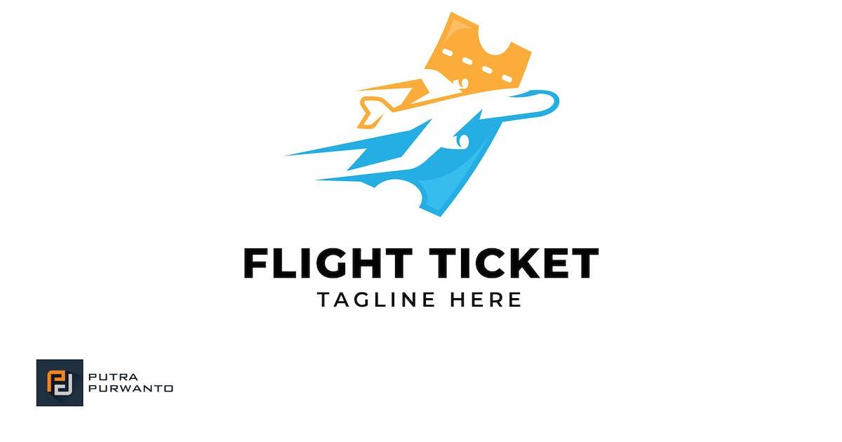 Download Flight Ticket - Logo Template by putra_purwanto