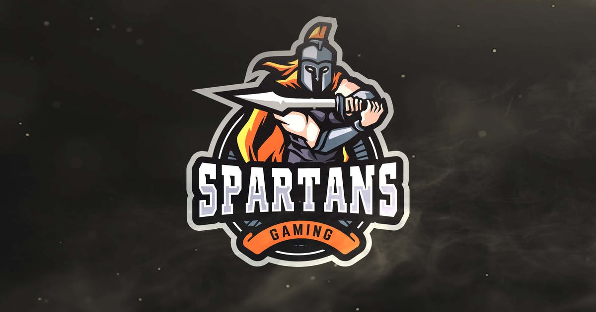 Download Spartans Gaming Sport and Esports Logo by ovozdigital