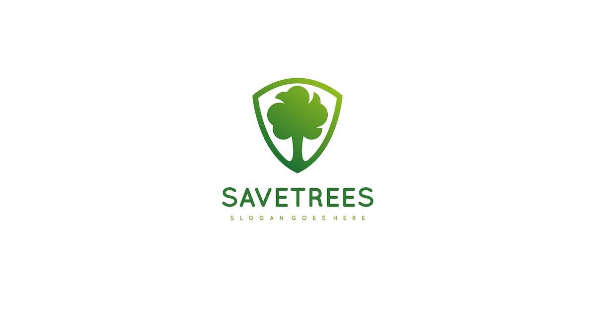 Tree Shield Logo by 3ab2ou