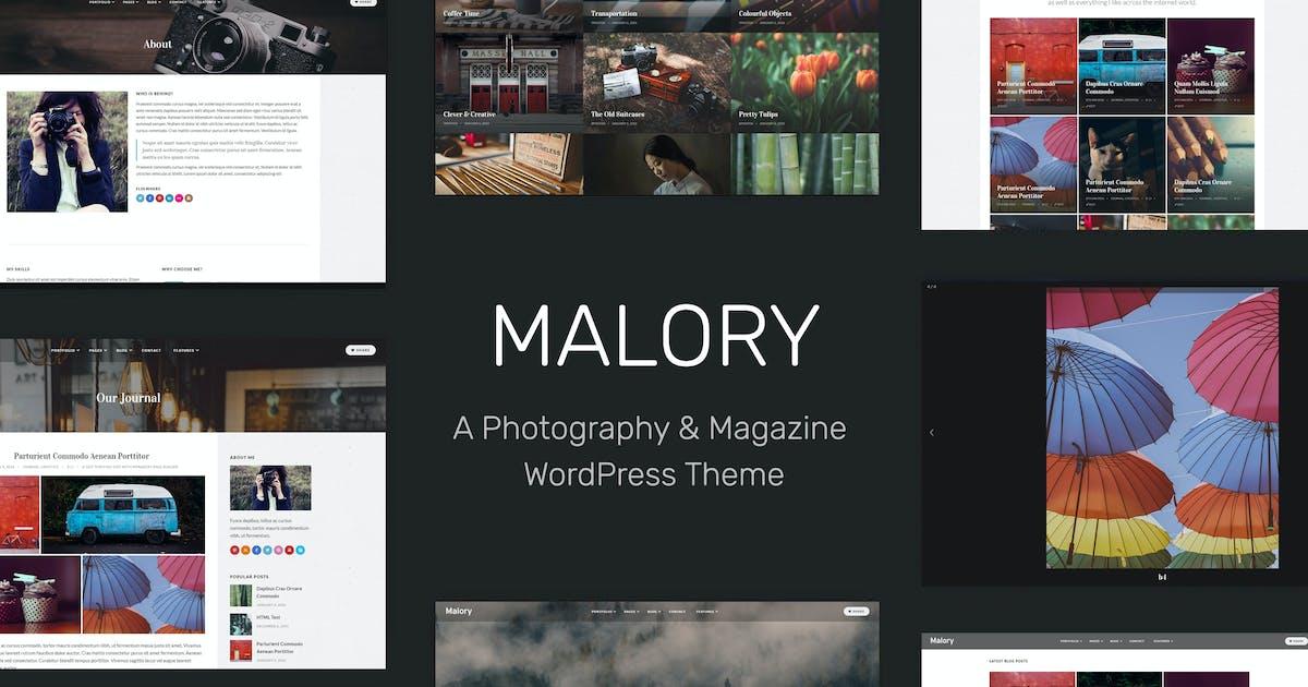 Download Malory - Photography & Magazine WordPress Theme by tommusrhodus