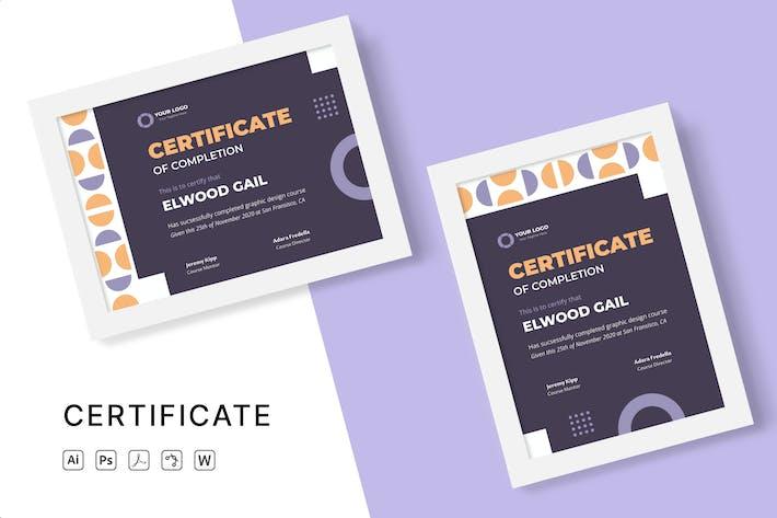 Thumbnail for Bildungs-Zertifikat