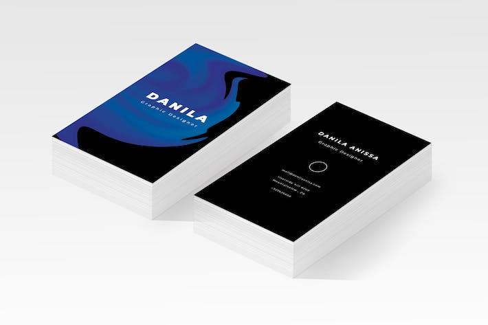 Thumbnail for Liquid Business Card