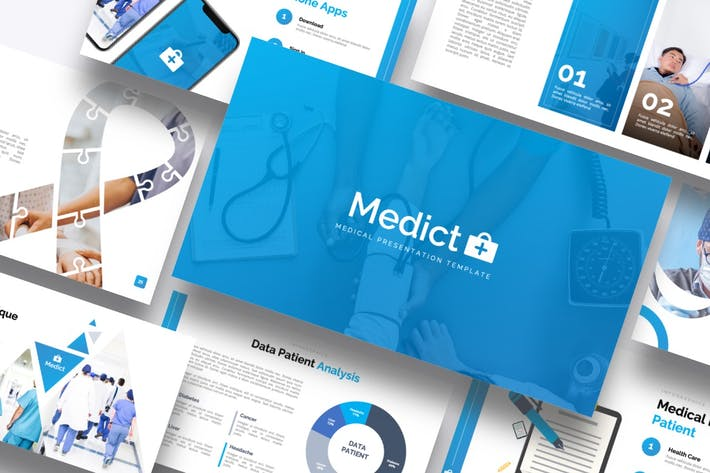 Thumbnail for Medict+ Medical Powerpoint Template