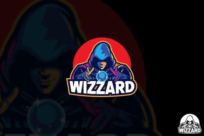 Thumbnail for Wizzard Esport Vector Logo Mascot