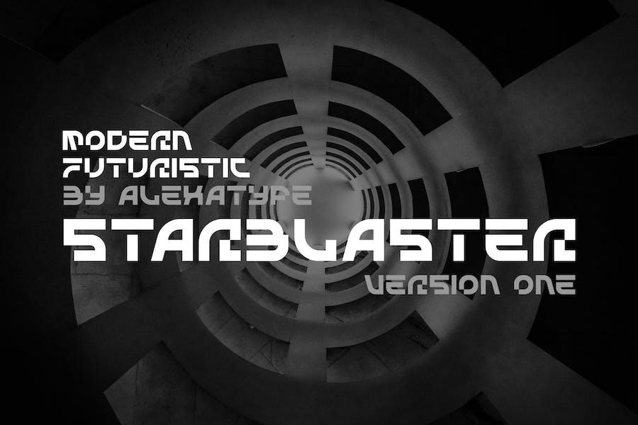 STARBLASTER - Modern Futuristic Font